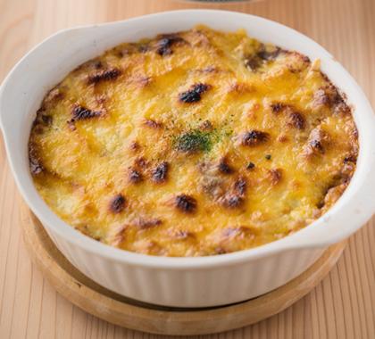 チーズたっぷり焼きカレー
